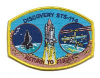 STS-114 Return to Flight Embroidered Patch